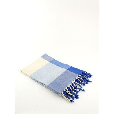 Fouta Beach Towel Color: Blue