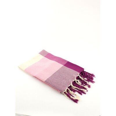 Fouta Beach Towel Color: Pink