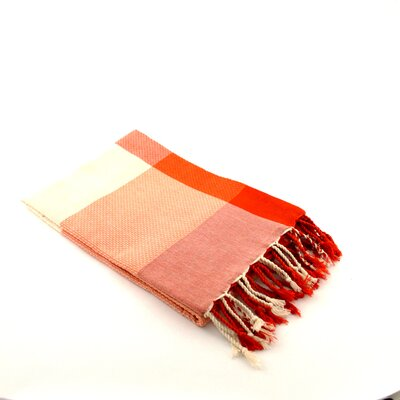 Fouta Beach Towel Color: Orange