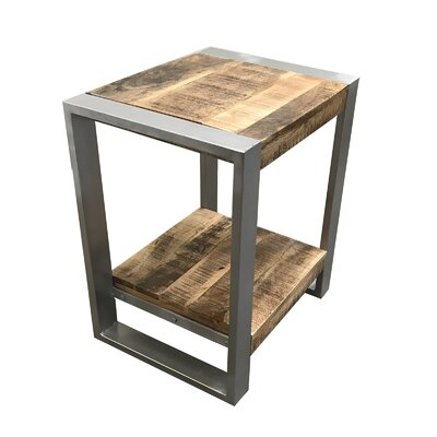 Lupo Reclaimed Wood End Table