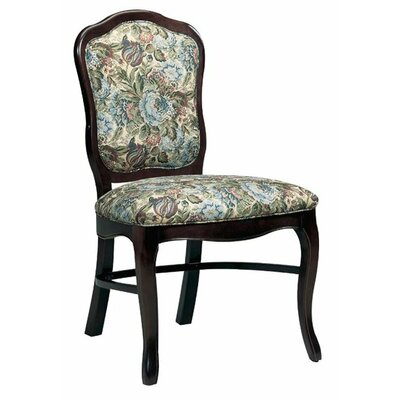 Upholstered Dining Chair Upholstery Color: Partner White, Frame Color: English Oak