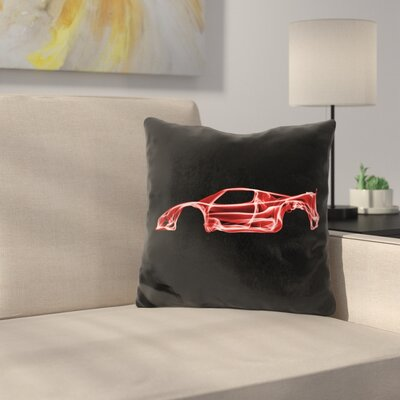 Ferrari Fd Throw Pillow