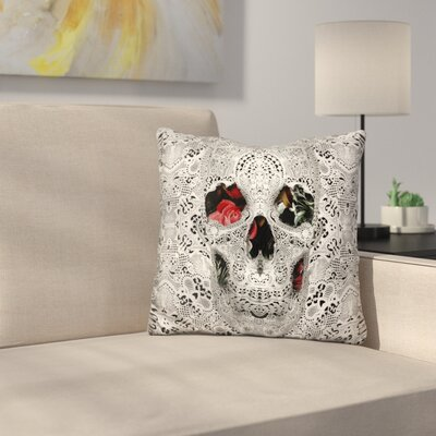 Skull Light 6000 Throw Pillow