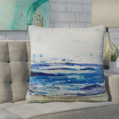 Pippen Ocean Velvet Throw Pillow