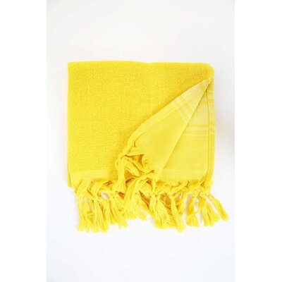 Guest Hand Towel (Set of 2) Color: Yellow