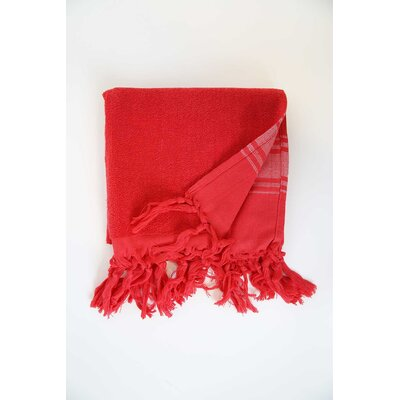 Guest Hand Towel (Set of 2) Color: Red