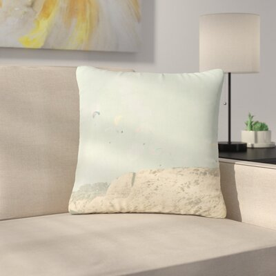 Sylvia Coomes West Coast 2 Coastal Outdoor Throw Pillow Size: 16 H x 16 W x 5 D