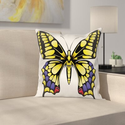 Big Machaon Square Cushion Pillow Cover Size: 16 x 16