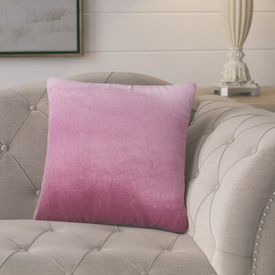 Pittenger Soft Luxury Velvet Throw Pillow Color: Purple
