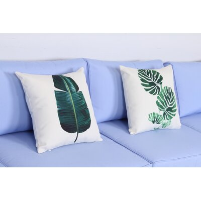 Leaf 2 Piece Indoor/outdoor Throw Pillow Set