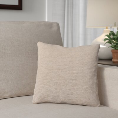 Danin Outdoor Throw Pillow Color: Sand, Size: Large