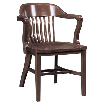 Solid Wood Dining Chair Color: English Oak