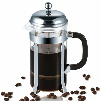 4 Cup French Press Coffee Maker Color: Metallic ID02839GP