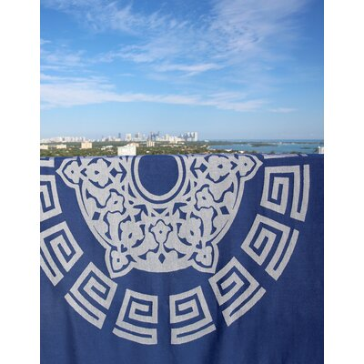 Feliciano Beach Towel Color: Navy