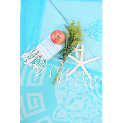 Feliciano Beach Towel Color: Turquoise