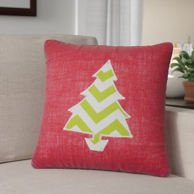 Holiday Linen Throw Pillow