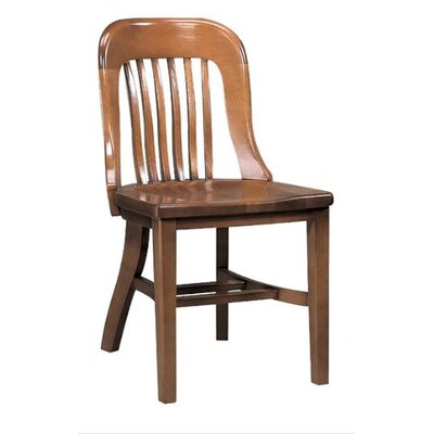 Solid Wood Dining Chair Color: Kensington Maple