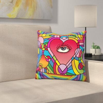 Love Music Throw Pillow