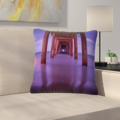 Juan Paolo Scripps Pier Outdoor Throw Pillow Size: 18 H x 18 W x 5 D