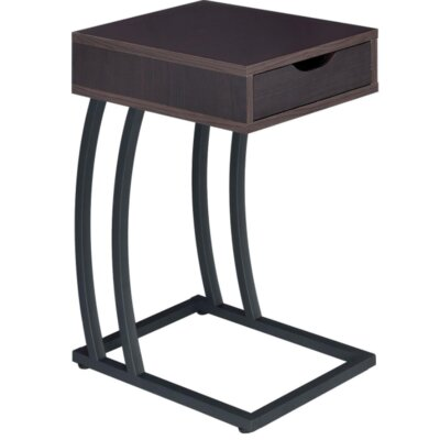Loyd End Table with Storage Color: Cappuccino