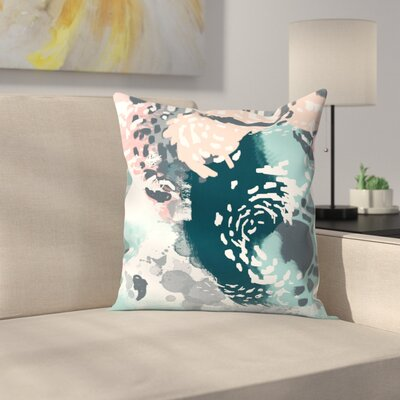 Charlotte Winter August Throw Pillow Size: 16 x 16