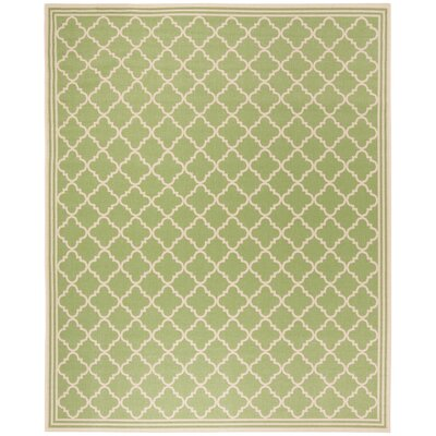 Sherell Olive/Cream Area Rug Rug Size: Rectangle 8 x 10