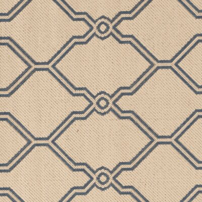 Croker Cream/Blue Area Rug Rug Size: Square 67