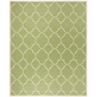 Croker Olive/Cream Area Rug Rug Size: Rectangle 51 x 76