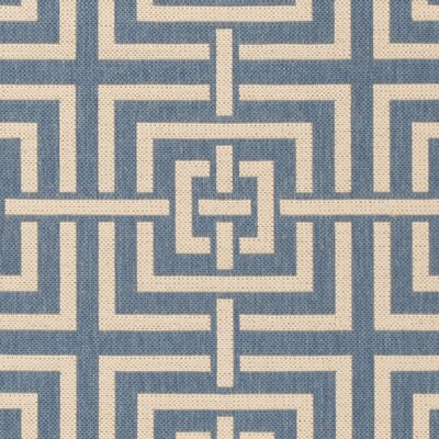 Horsholm Blue/Cream Area Rug Rug Size: Square 67