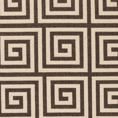 Horne Cream/Brown Area Rug Rug Size: Runner 2 x 8
