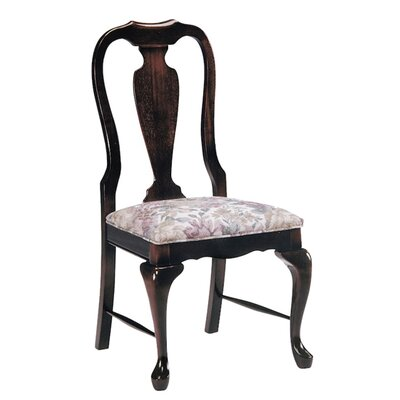 Dining Chair Upholstery Color: Howdy Saddle, Frame Color: English Oak