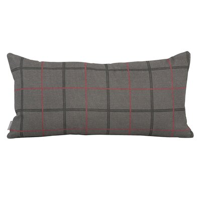 Luby Lumbar Pillow Color: Charcoal Gray, Fill Material: Polyester