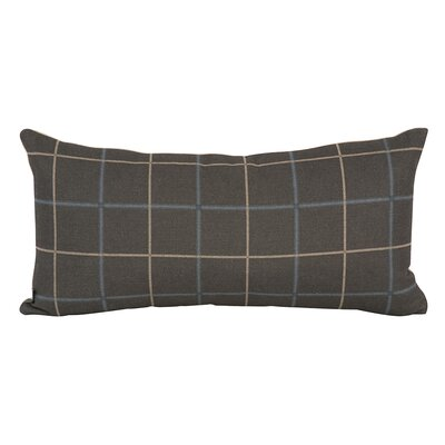 Luby Lumbar Pillow Color: Slate Gray, Fill Material: Polyester