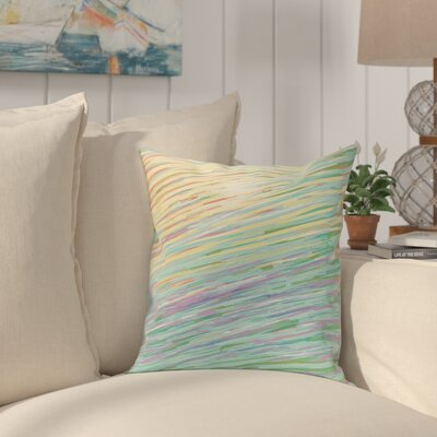 Jonelle Coastal Decorative Outdoor Pillow Color: Multi, Size: 18 H x 18 W x 1 D