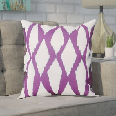 Blauvelt Decorative Hypo Allergenic Throw Pillow Size: 16 H x 16 W, Color: Purple