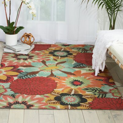 Cragin Red/Blue Area Rug