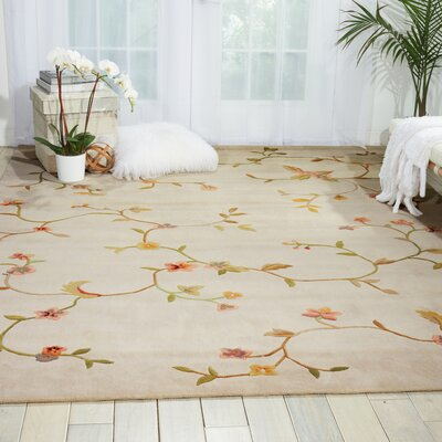 Sharell Hand-Tufted Ivory Area Rug