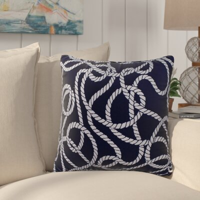 Brinley Nautical Outdoor Throw Pillow