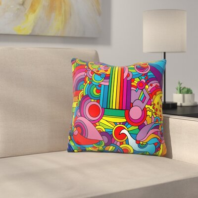 Guitar 916 Motif Throw Pillow