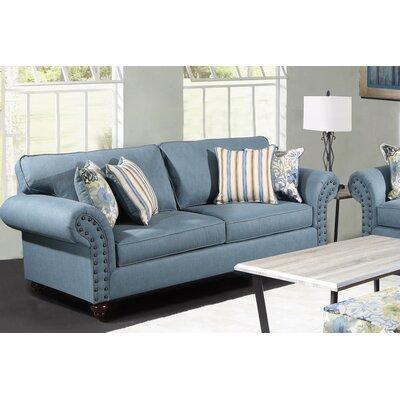 Holzer Sofa Upholstery: Wynwood Pacific