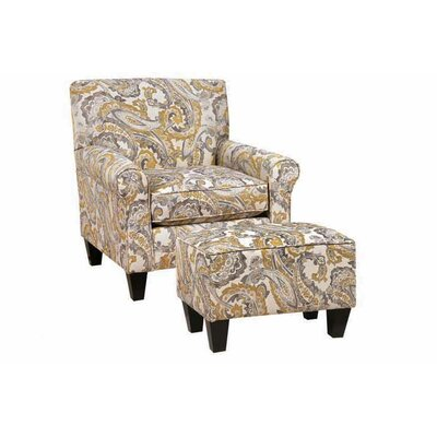 Driggers Club Chair and Ottoman