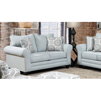 Driggers Loveseat Upholstery: Popstitch Heron