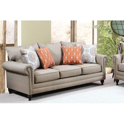 Dierks Sofa Upholstery: Compel Wheat
