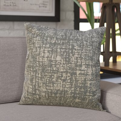 Wiley Woven Decorative Pillow Cover Color: Grey