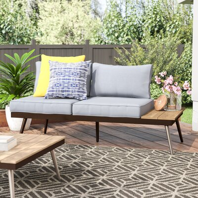 Bendale Contemporary Loveseat Cushion 2469 Product Pic