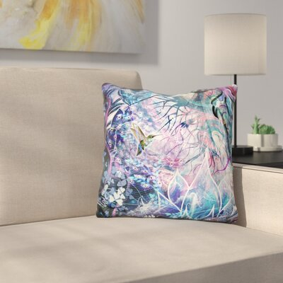 Dreams of Unity Hummingbird Throw Pillow