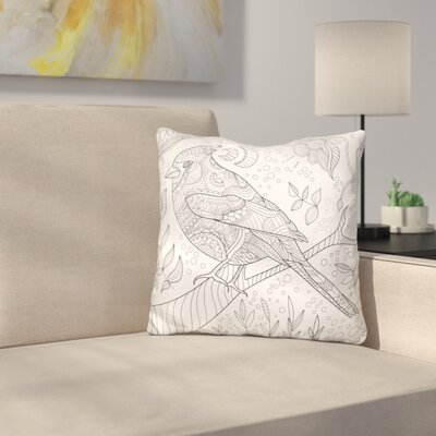 Mattocks Bird Throw Pillow
