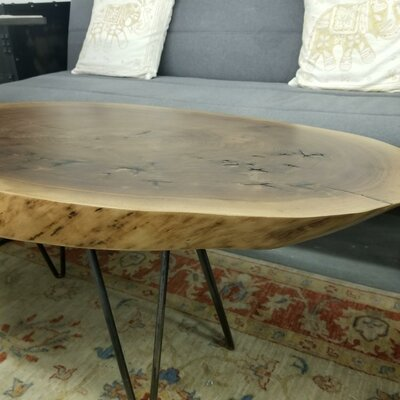 Cooperstown Walnut Live Edge Coffee Table