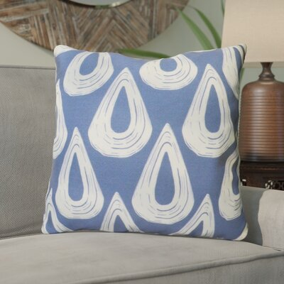 Caudell Throw Pillow Color: Blue