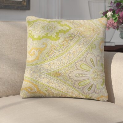 Giacinta Damask Linen Throw Pillow